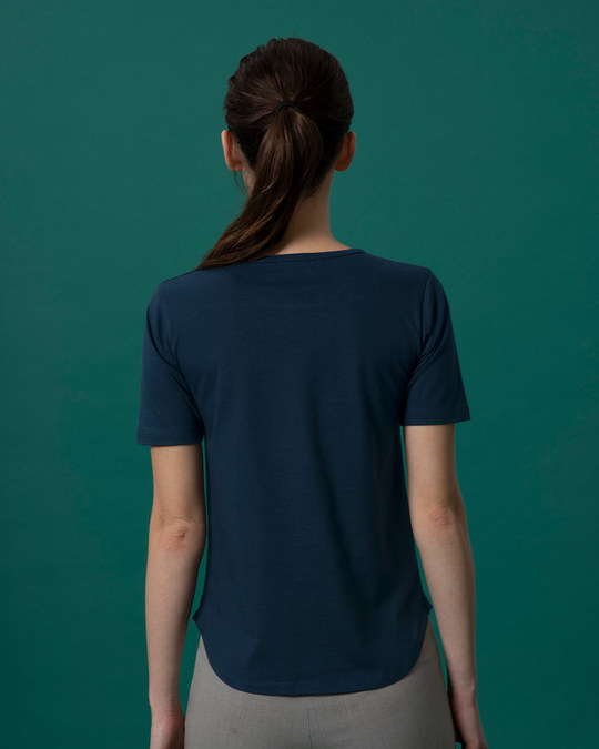 Shop Are You Single Basic Round Hem T-Shirt-Full