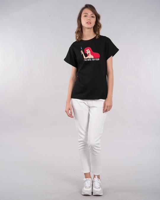 Shop Ariel Food Boyfriend T-Shirt (DL)-Design
