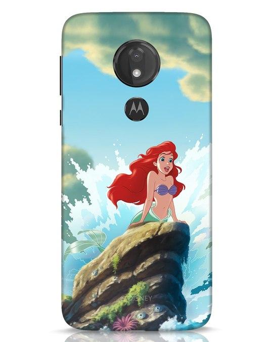 Shop Ariel Moto G7 Power Mobile Cover (DL)-Front