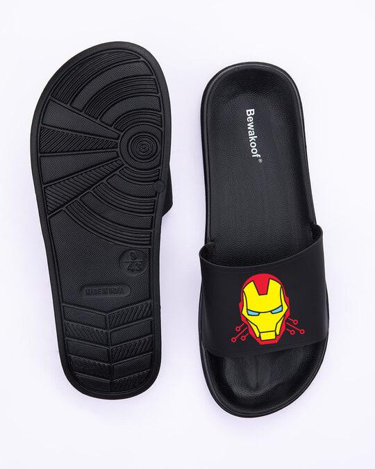 Shop Armor Printed Lightweight Men's Sliders-Full