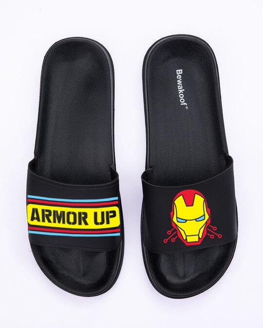 Shop Armor Printed Lightweight Women Sliders-Back
