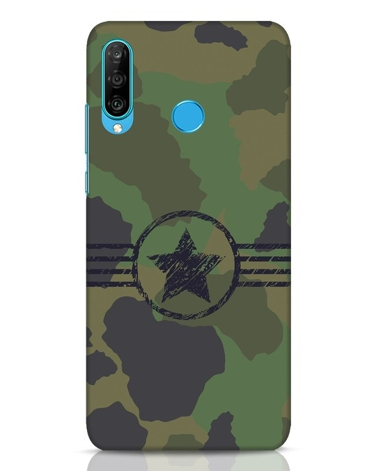 Shop Army Huawei P30 Lite Mobile Cover-Front