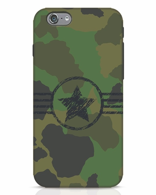 Shop Army iPhone 6 Mobile Cover-Front