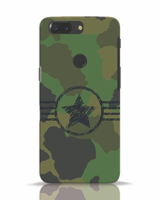 Shop Army OnePlus 5T Mobile Cover-Front