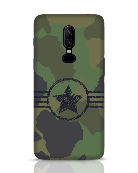 Shop Army OnePlus 6 Mobile Cover-Front