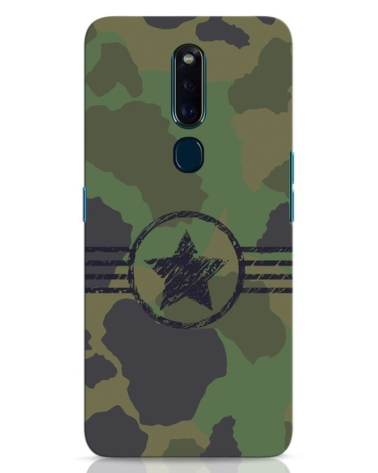 Shop Army Oppo F11 Pro Mobile Cover-Front