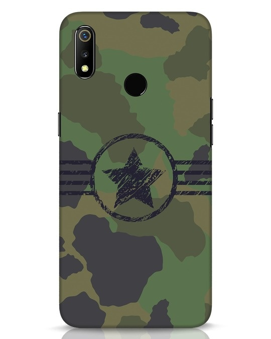 Shop Army Realme 3 Mobile Cover-Front