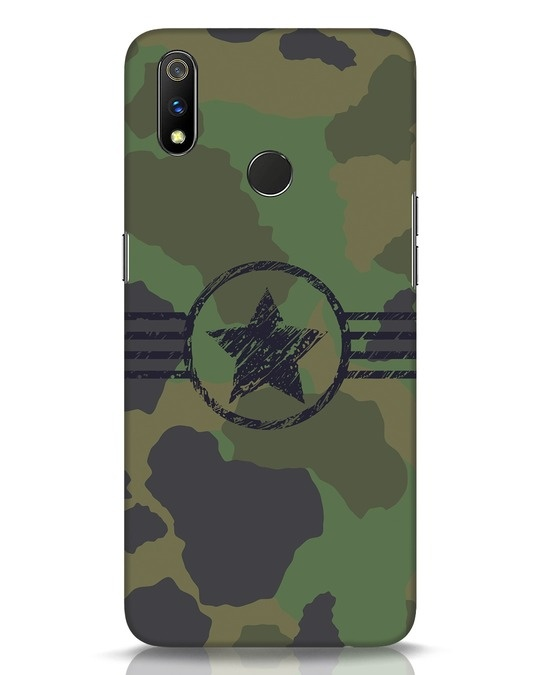 Shop Army Realme 3 Pro Mobile Cover-Front