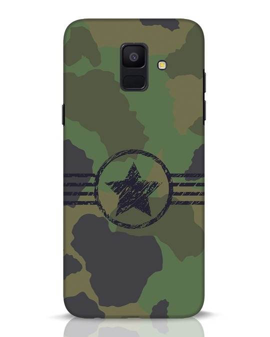 Shop Army Samsung Galaxy A6 2018 Mobile Cover-Front