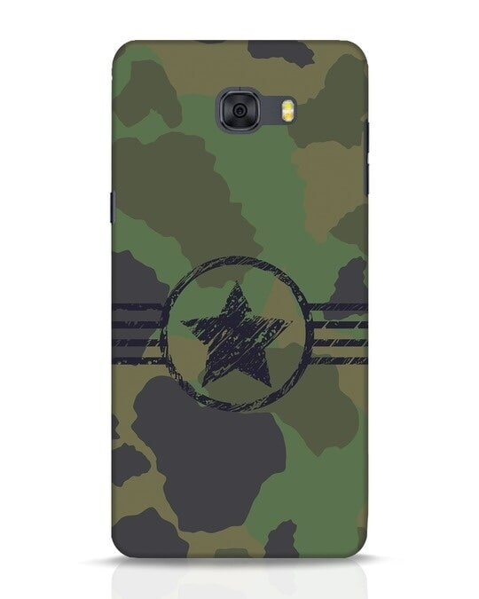 Shop Army Samsung Galaxy C9 Pro Mobile Cover-Front