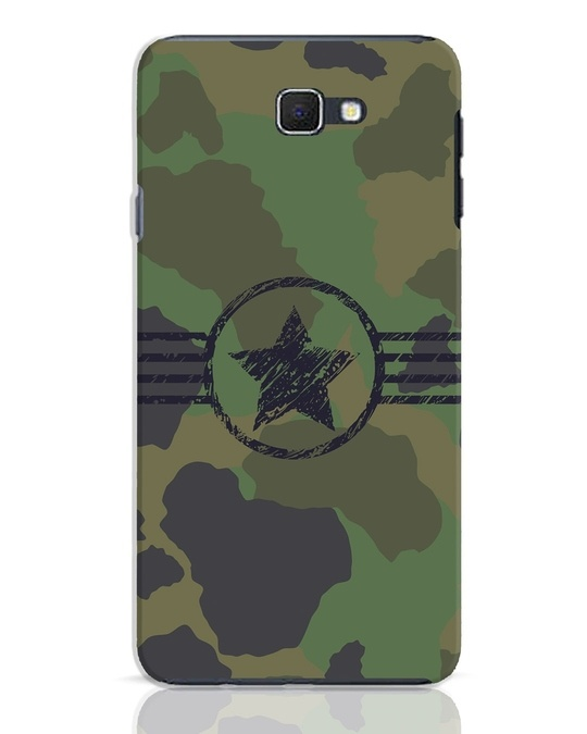 Shop Army Samsung Galaxy J7 Prime Mobile Cover-Front