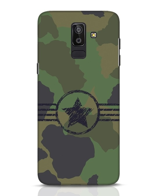 Shop Army Samsung Galaxy J8 Mobile Cover-Front