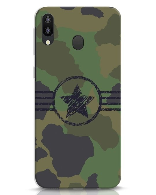Shop Army Samsung Galaxy M20 Mobile Cover-Front