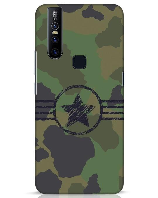 Shop Army Vivo V15 Mobile Cover-Front