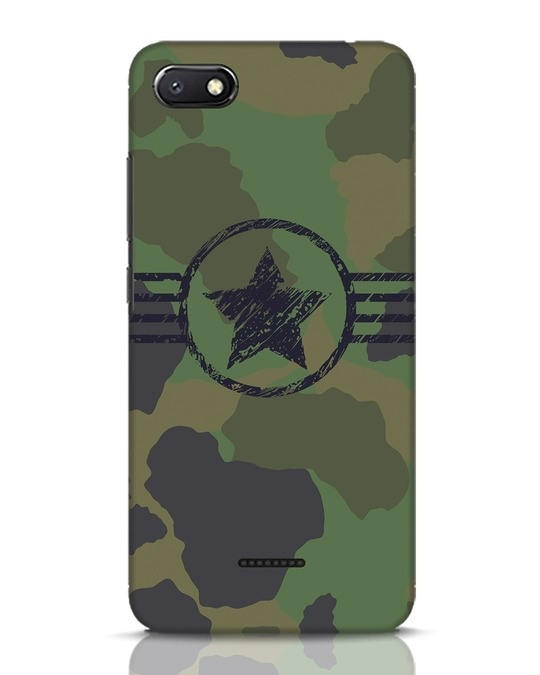 Shop Army Xiaomi Redmi 6A Mobile Cover-Front