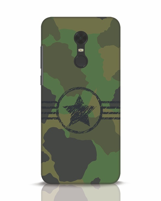 Shop Army Xiaomi Redmi Note 5 Mobile Cover-Front