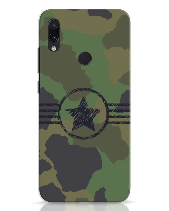 Shop Army Xiaomi Redmi Note 7 Mobile Cover-Front