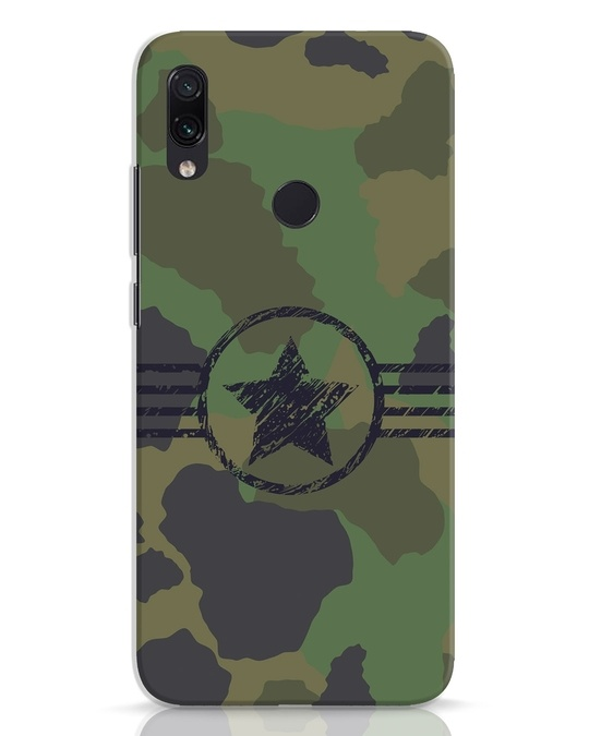 Shop Army Xiaomi Redmi Note 7 Pro Mobile Cover-Front