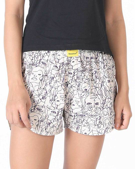 Shop Art All Over Printed Boxer-Front