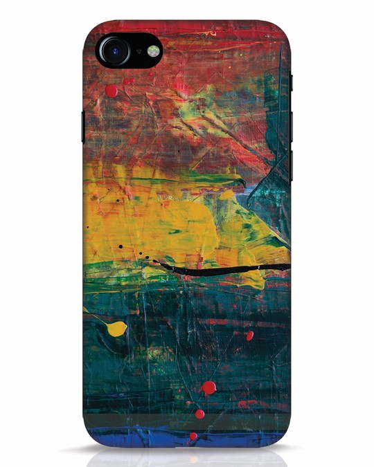Shop Art Colour iPhone 8 Mobile Cover-Front