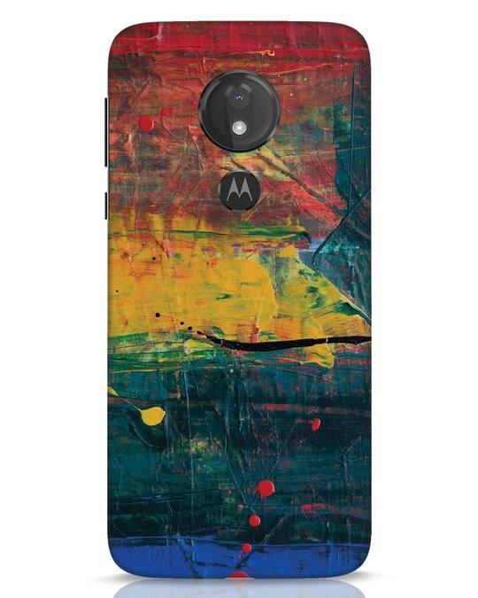 Shop Art Colour Moto G7 Power Mobile Cover-Front