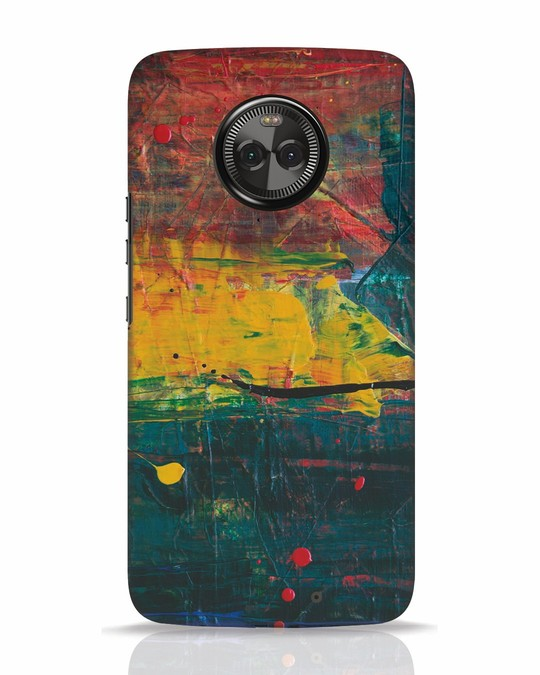 Shop Art Colour Moto X4 Mobile Cover-Front