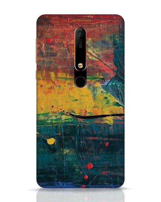 Shop Art Colour Nokia 6.1 Mobile Cover-Front