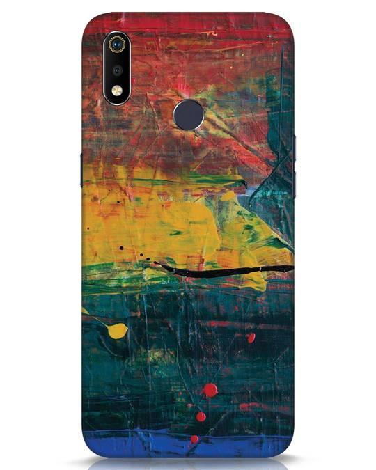 Shop Art Colour Realme 3i Mobile Cover-Front
