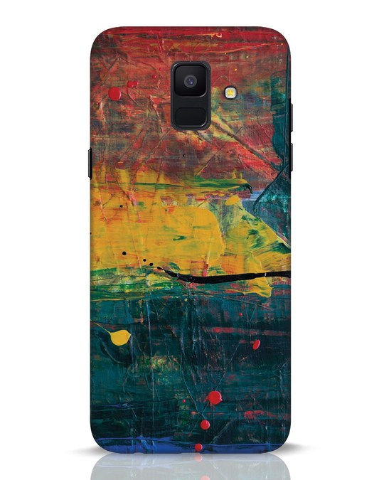 Shop Art Colour Samsung Galaxy A6 2018 Mobile Cover-Front