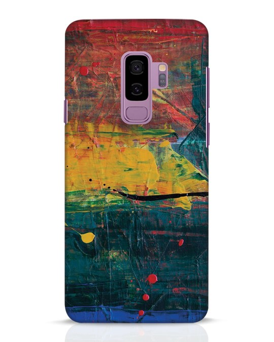 Shop Art Colour Samsung Galaxy S9 Plus Mobile Cover-Front