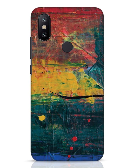 Shop Art Colour Xiaomi Mi A2 Mobile Cover-Front
