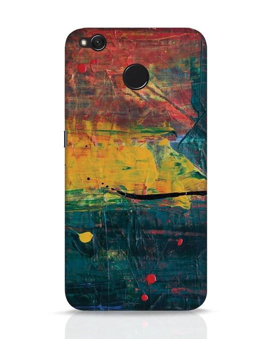 Shop Art Colour Xiaomi Redmi 4 Mobile Cover-Front
