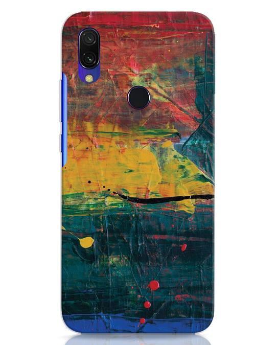 Shop Art Colour Xiaomi Redmi 7 Mobile Cover-Front