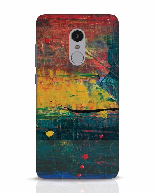 Shop Art Colour Xiaomi Redmi Note 4 Mobile Cover-Front