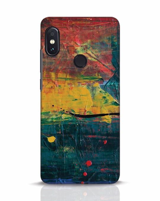 Shop Art Colour Xiaomi Redmi Note 5 Pro Mobile Cover-Front