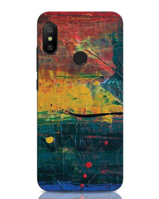 Shop Art Colour Xiaomi Redmi Note 6 Pro Mobile Cover-Front