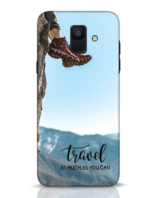 Shop As Much As You Can Samsung Galaxy A6 2018 Mobile Cover-Front