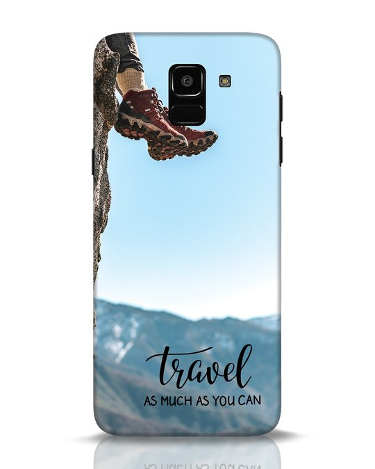Shop As Much As You Can Samsung Galaxy J6 Mobile Cover-Front