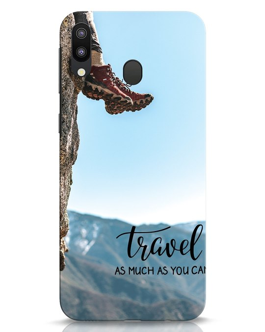 Shop As Much As You Can Samsung Galaxy M20 Mobile Cover-Front