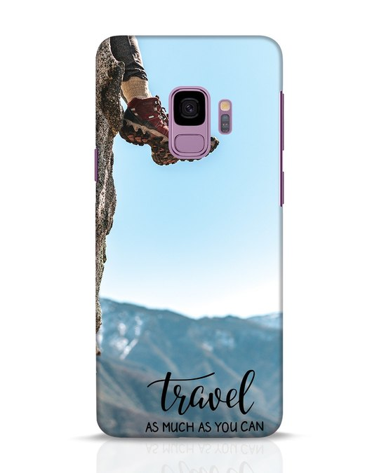 Shop As Much As You Can Samsung Galaxy S9 Mobile Cover-Front