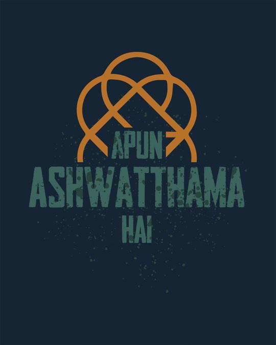 Shop Ashwatthama Half Sleeve T-Shirt
