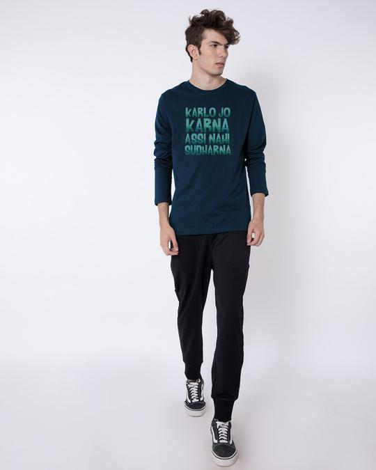 Shop Assi Nahi Sudharna Full Sleeve T-Shirt
