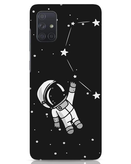 Shop Astro Love Samsung Galaxy A71 Mobile Cover-Front