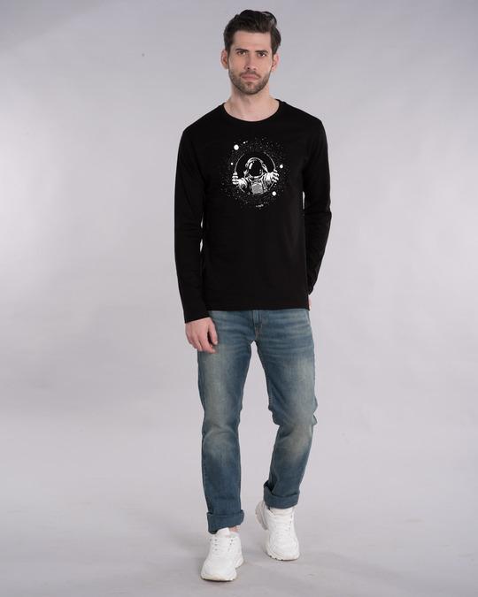 Shop Astronaut Space Full Sleeve T-Shirt-Full