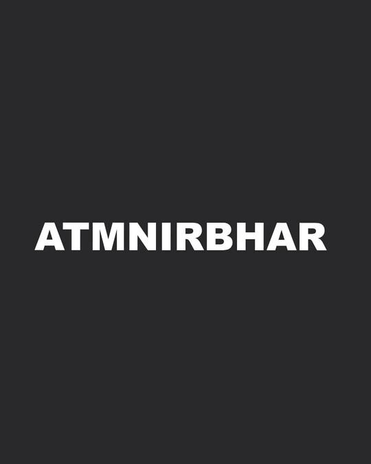Shop Atma Nirbhar Men's Printed T-shirt