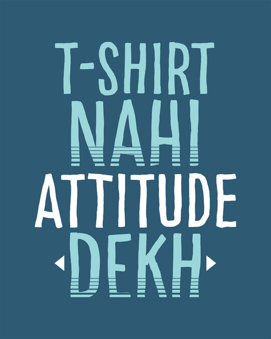 Shop Attitude Dekh Full Sleeve T-Shirt