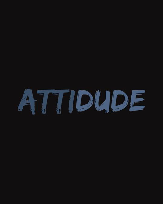 Shop Attitude Dude Full Sleeve T-Shirt