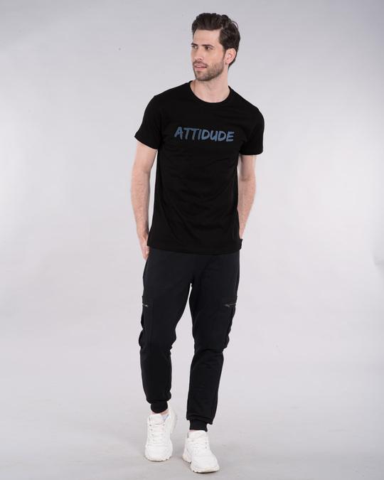 Shop Attitude Dude Half Sleeve T-Shirt-Design