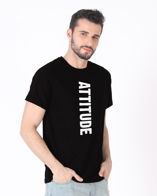 Shop Attitude Half Sleeve T-Shirt-Full