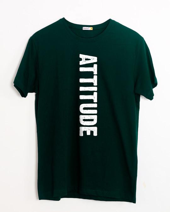 Shop Attitude Half Sleeve T-Shirt-Front